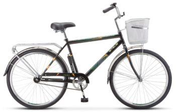 "200 chernyy 350x223 - Велосипед Стелс (Stels) Navigator-200 Gent 26"" Z010 , Сталь , р. 19"", цвет Чёрный"