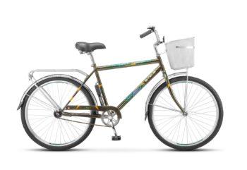 "200 olivkovyy 1 350x241 - Велосипед Стелс (Stels) Navigator-200 Gent 26"" Z010 , Сталь , р. 19"", цвет Оливковый"