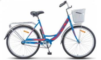 "245 siniy krasnyy 350x208 - Велосипед Стелс (Stels) Navigator-245 26"" Z010 , Сталь , р. 19"", цвет Синий/красный"
