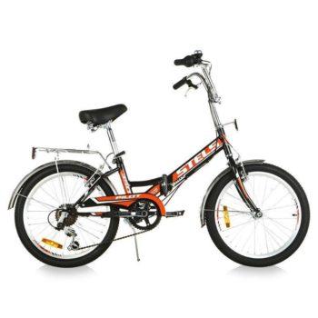 """310 350x350 - Велосипед Стелс (Stels) Pilot-310 20"""" Z011, Сталь , р13"""", цвет  Чёрный/красный"""