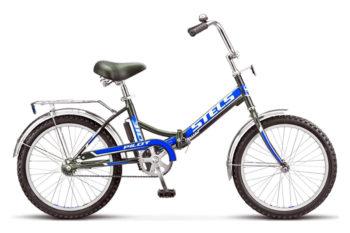 "310 chernyy siniy 350x233 - Велосипед Стелс (Stels) Pilot-310 20"" Z011, Сталь , р13"", цвет  Чёрный/синий"