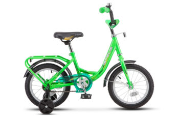 """Flyte 14 Z011 green 2018 350x228 - Велосипед Стелс (Stels) Flyte Lady 14"""" Z011, Сталь , р 9,5"""", цвет  Зелёный"""