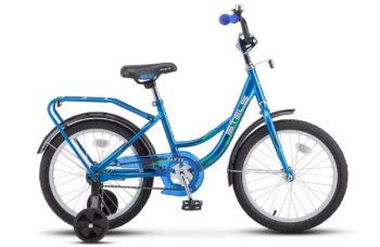 "Flyte 18 Z011 blue 2018 350x228 - Велосипед Стелс (Stels) Flyte 18"" Z011, Сталь , р 12"", цвет    Синий"