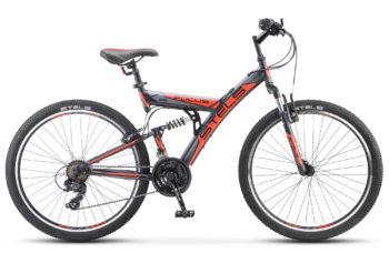 """Focus V 26 18 sp V030 black red 350x228 - Велосипед Стелс (Stels) Focus V 26"""" 18-sp V030 , р 18"""", цвет  Черный/красный"""