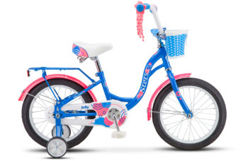 "Jolly 16 V010 blue 350x228 - Велосипед Стелс (Stels)Jolly 16"" V010 , Сталь , р 9,5"", цвет   Синий"