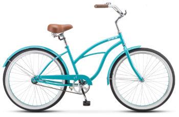 "Navigator 110 Lady 26 1 sp V010 sea green 350x228 - Велосипед Стелс (Stels) Navigator-110 Lady 26"" 1-sp V010, Сталь , р. 17"", цвет Морская-волна"