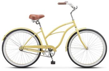 "Navigator 110 Lady 26 1 sp V010 yellow sandy 350x228 - Велосипед Стелс (Stels) Navigator-110 Lady 26"" 1-sp V010, Сталь , р. 17"", цвет Жёлтый песок"
