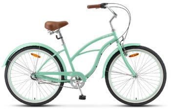 "Navigator 130 Lady 26 3 sp V010 green 350x228 - Велосипед Стелс (Stels) Navigator-130 Lady 26"" 3-sp V010, Сталь , р. 17"", цвет Бирюзовый"