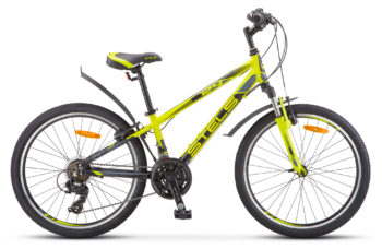 "Navigator 440 V 24 V030 matt lime 350x228 - Велосипед Стелс (Stels) Navigator-440 V 24"" V030, Алюминий , р13"", цвет   Лайм"