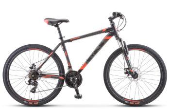 "Navigator 500 MD 26 F010 black red 350x228 - Велосипед Стелс (Stels) Navigator-500 MD 26"" F010 , Сталь, р 20"", цвет Чёрный/красный"