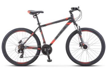 "Navigator 500 D 26 F010 black red 350x228 - Велосипед Стелс (Stels) Navigator-500 D 26"" F010 , Сталь, р 16"", цвет  Чёрный/красный"