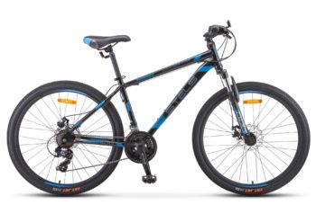 "Navigator 500 MD 26 F010 gray blue 350x228 - Велосипед Стелс (Stels) Navigator-500 MD 26"" F010 , Сталь, р 16"", цвет Чёрный/синий"