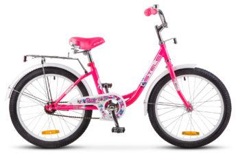"""Pilot 200 Lady 20 Z010 pink 350x228 - Велосипед Стелс (Stels) Pilot-200 Lady 20"""" Z010, Сталь , р11"""", цвет Розовый"""