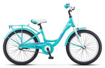 """Pilot 220 Lady 20 V010 Turquoise 350x228 - Велосипед Стелс (Stels) Pilot-260 Lady 20"""" V010, Алюминий , р11"""", цвет Бирюзовый"""
