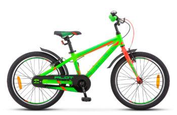 """Pilot 250 Gent 20 V010 neon green neon red matt 350x228 - Велосипед Стелс (Stels) Pilot-250 Gent 20"""" V010, Алюминий , р11"""", цвет  Неоновый-зеленый/неоновый-красный"""