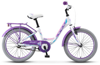 "Pilot 250 Lady 20 V010 white matt 350x228 - Велосипед Стелс (Stels)Pilot-250 Lady 20"" V010, Алюминий , р12"", цвет  Белый"