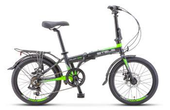 """Pilot 630 MD 20 V010 black green matt 350x228 - Велосипед Стелс (Stels) Pilot-630 MD 20"""" V010, Алюминий  , р. 11,5"""", цвет  Чёрный/зелёный"""