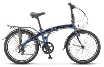 """Pilot 760 24 V010 dark blue 350x228 - Велосипед Стелс (Stels) Pilot-760 24"""" V010, Алюминий , р. 14,5"""", цвет Тёмно-синий"""