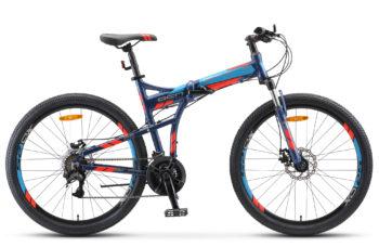 """Pilot 950 MD 26 V011 dark blue matt 350x228 - Велосипед Стелс (Stels) Pilot-950 MD 26"""" V011, Алюминий , р. 19"""", цвет Темно-синий"""