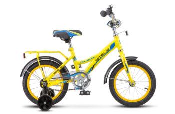 """Talisman 14 Z010 yellow2018 350x228 - Велосипед Стелс (Stels)Talisman 14"""" Z010 , Сталь , р 9,5"""", цвет    Желтый"""