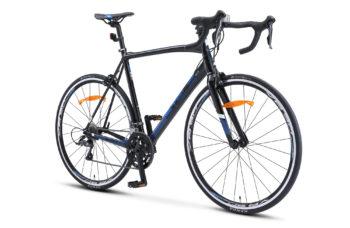 "XT300 28 V010 black blue 2 1 350x228 - Велосипед Стелс (Stels) XT300 28""  V010  700С , Алюминий X6, р. 23"", цвет   Чёрный/синий"