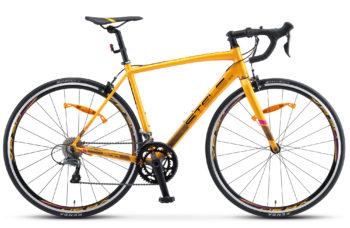 "XT300 28 V010 golden black 350x228 - Велосипед Стелс (Stels) XT300 28""  V010  700С , Алюминий X6, р. 20"", цвет  Золотистый/чёрный"